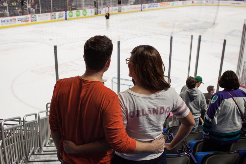 7 Reasons an Orlando Solar Bears Hockey Game is a Date Night Must
