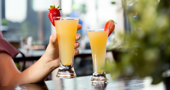 Bottomless Mimosas for brunch in Orlando
