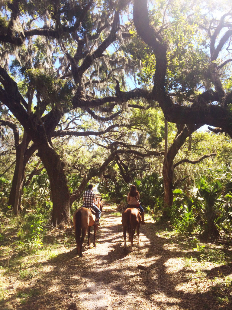 Most romantic experiences in Orlando - Trail ride at Hidden Palms Ranch