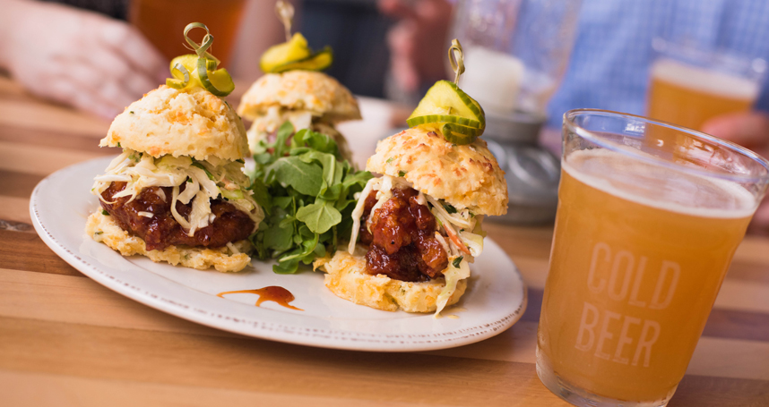 Embark on a Self-Guided Brews and BBQ food crawl this summer at Disney Springs