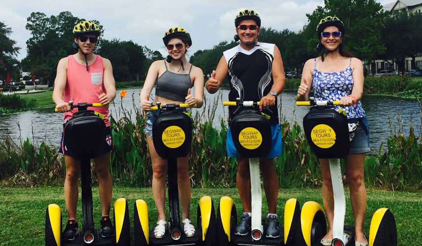 Where to take a Segway Tour in Central Florida