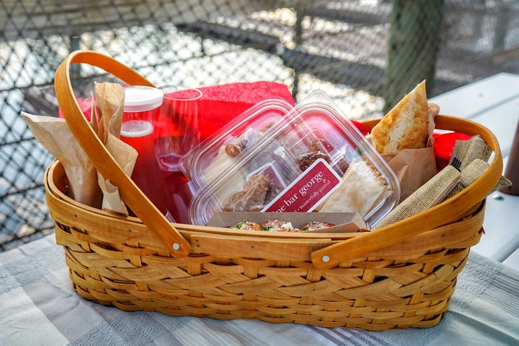 Orlando picnic basket from Wine Bar George