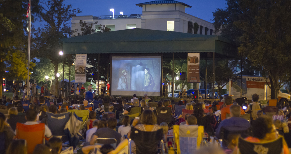24 Free Outdoor Movies in Orlando Spring and Summer 2019