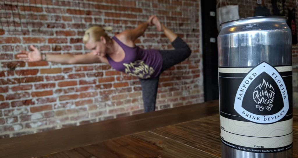 Where to Practice Boozy Yoga in Orlando