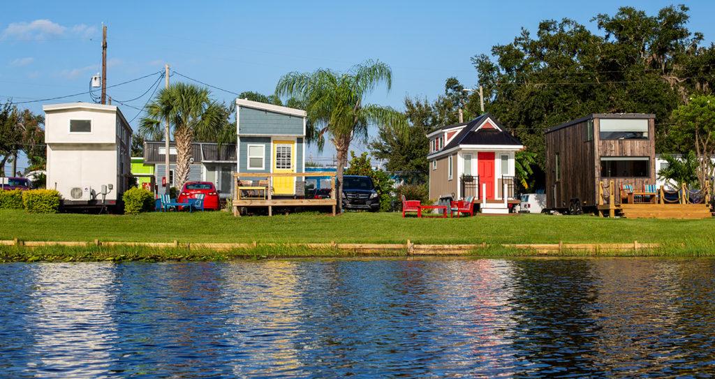 Orlando Lakefront Tiny Home Rentals