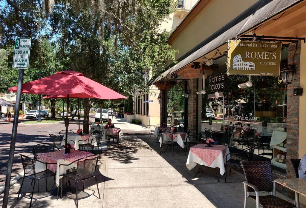 Italian Date Night in Orlando at Rome's Flavours in Winter Park, FL