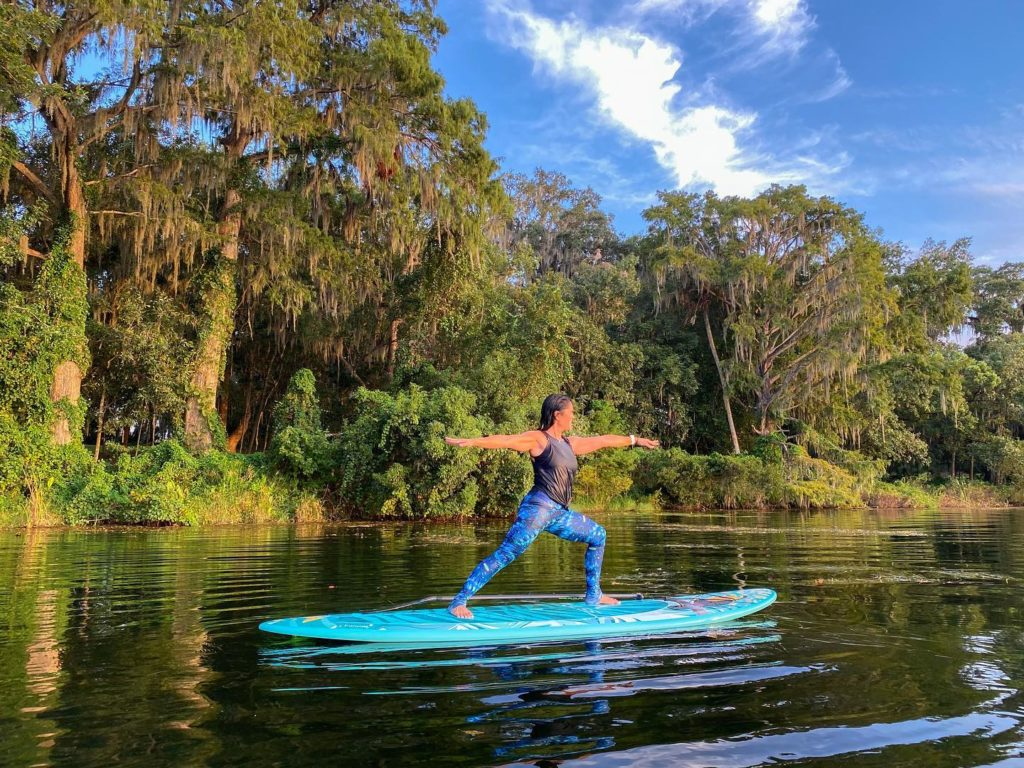 Otter Paddle Orlando Paddleboard Yoga