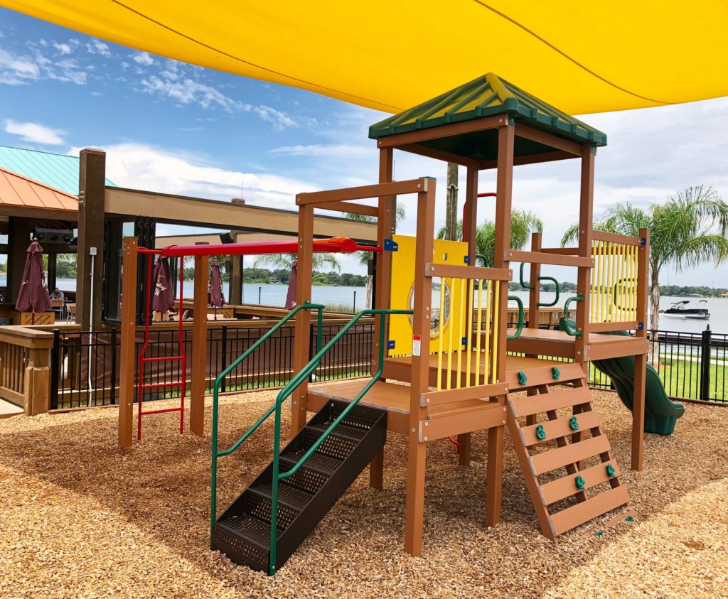 Kid-Friendly Orlando Restaurants with Playgrounds - Grills Lakeside Seafood Deck and Tiki Bar