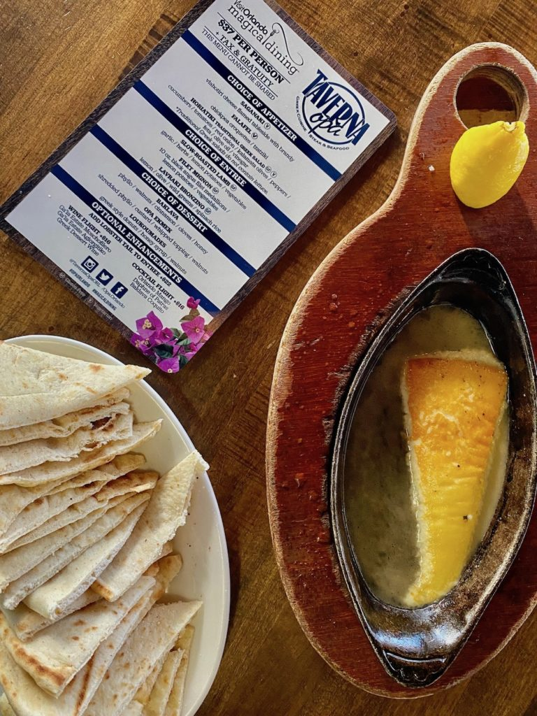 Magical Dining preview at Taverna Opa