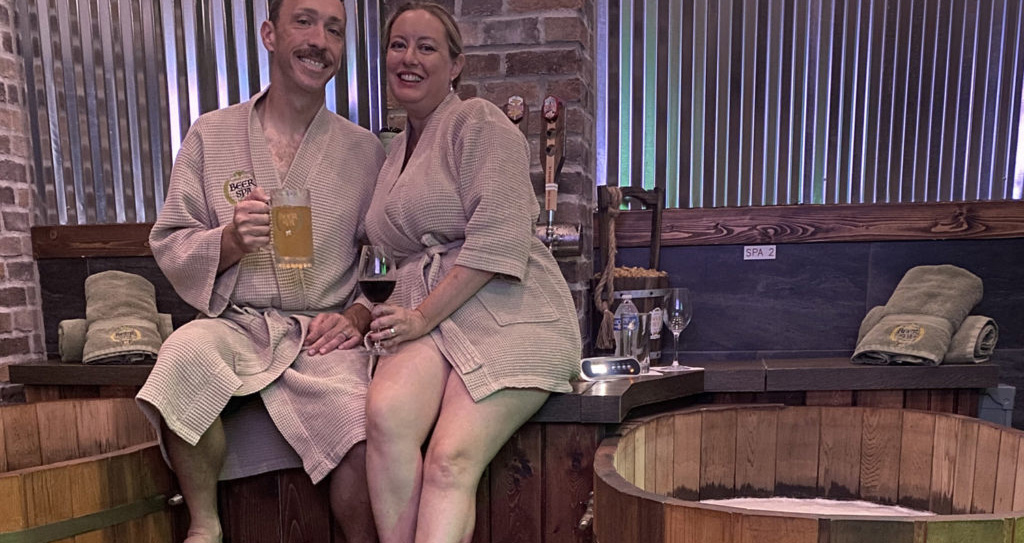 We Visited the New Orlando Beer Spa! Here's What to Expect