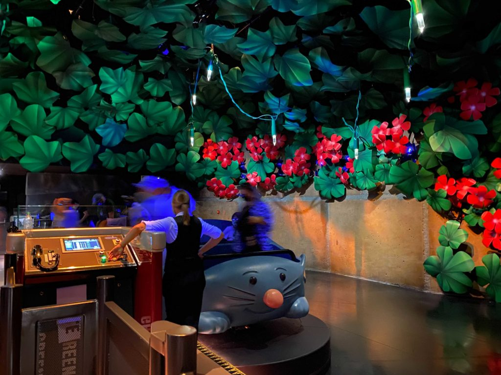 Remy's Ratatouille Adventure - Ride Unload Area