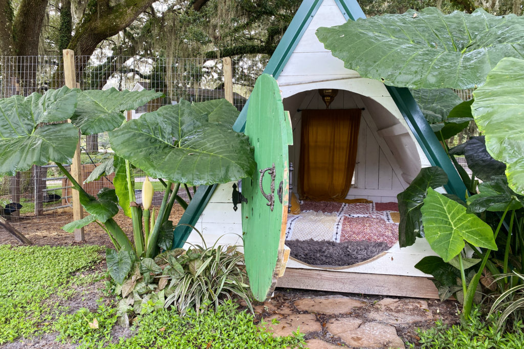 A Relaxing Glamping Escape to Enchanted Oaks Farm